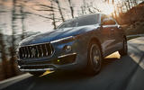 84 Maserati Levante Hybrid 2021 official images on road front