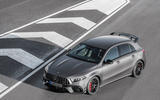 Mercedes-AMG A45 S 2019 official reveal - static front