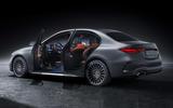 84 Mercedes Benz C Class 2021 official images doors open