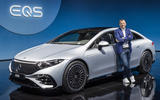84 Mercedes EQS official reveal images static