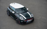 84 Mini JCW anniversary official images static aerial