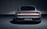 2019 Porsche 911 official reveal - studio rear