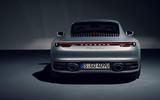 2019 Porsche 911 official studio photos - rear