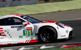 Porsche 911 RSR-19 drive - front end