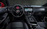 84 Porsche Macan GTS 2021 official images dashboard