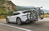 84 Porsche Taycan Cross Turismo official images bike rack
