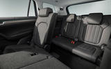 84 Skoda Kodiaq MY2021 facelift official images third row seats