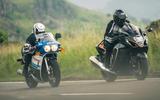 84 Suzuki at 100 Goodwin bike twin track