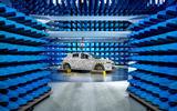 Vauxhall Corsa 2019 prototype drive - testing room