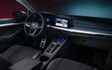 Volkswagen Golf Estate Mk8 Alltrak studio - dashboard
