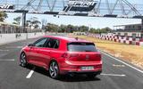 2020 Volkswagen Golf GTI first ride - static rear