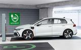 2020 Volkswagen Golf Mk8 official press - Golf GTE charging