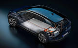 Volkswagen ID 4 official images - battery diagram