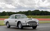 Aston Martin DB5 Goldfinger Continuation static