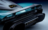 85 Aston Martin Valhalla official reveal rear diffuser