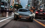 Audi E-tron GT concept 2020 prototype first drive review - hero nose