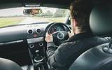 85 Audi TT mk1 Bauhaus feature 2021 MP driving