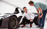 BAC Mono R carbonfibre feature - interview front wheel