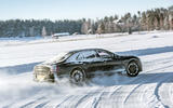 Bentley Flying Spur 2020 development ride - drifting