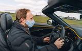 85 Bentley Mulliner Bacalar prototype drive 2021 PW driving