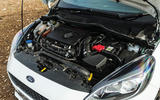 Britain's best affordable drivers car 2020 - Fiesta Mountune - engine