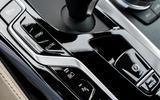 BMW 530e 2020 facelift official images - centre console