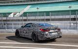2019 BMW M8 prototype ride - static rear three quarters