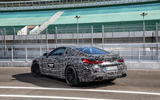 2019 BMW M8 prototype ride - static rear three quarters