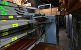 85 British Motor Heritage factory visit 2021 storage