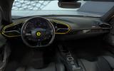 85 Ferrari 296 GTB 2021 Assetto Fiorano dashboard
