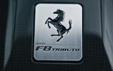 Ferrari F8 Tributo 2019 first ride review - logo