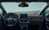 85 Ford Fiesta 2021 refresh Active interior