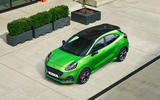 Ford Puma ST official images - static roof