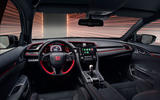 Honda Civic Type R sport line 2020 official press photos - dashboard
