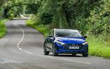 Hyundai i20 2020 prototype drive - on the road front