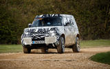 2020 Land Rover Defender prototype ride - cornering