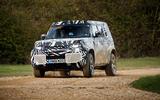 2020 Land Rover Defender prototype ride - cornering