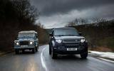 85 Land Rover Defender V8 2021 official images new with old tracking