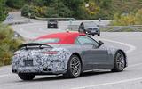 85 Mercedes AMG SL 2022 spies rear