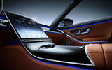2021 Mercedes-Benz S-Class official reveal images - centre console