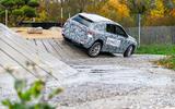 Mercedes-Benz GLA prototype ride 2019 - rear