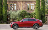 Mercedes GLC Coupe 2019 press - static side