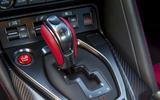 Nissan GT-R Nismo 2020 official reveal - gear shifter
