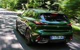 85 Peugeot 308 hatch 2021 FD on road rear