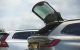 85 PHEV wagons triple test 2021 330e rear glass