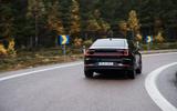 2020 Polestar 2 prototype drive - on the road rear