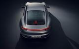 2019 Porsche 911 official studio photos - top