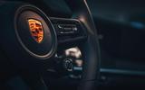 2019 Porsche 911 Carrera S track drive - wheel controls