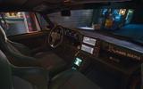 Porsche 911 Cyberpunk 2077 tie-in - centre console