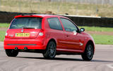 Renaultsport history picture special - Renaultsport Clio 182 rear
